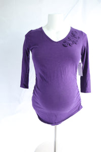 S Two Hearts Maternity 3/4 Sleeve Top