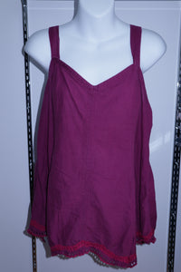 XL Thyme Maternity Tank Top