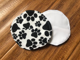 "4"" Reusable Breast Pads With PUL Milk-Proof Layer"