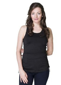 New Maternity & Nursing Quick Dry Tank Top in Black  LAST ONE SIZE XS
