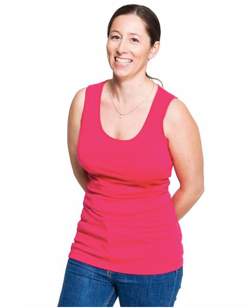 New Momzelle Nursing Tank In Pink