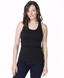 New Momzelle Nursing Tank in Black