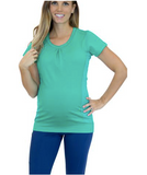 CLEARANCE 30% OFF APPLIED New Mumberry Vigor Maternity Shirt  With Mumband Belly Support
