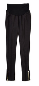 S Rachael Zoe for A Pea In The Pod Secret Fit Ponte Pant with Ankle Zip