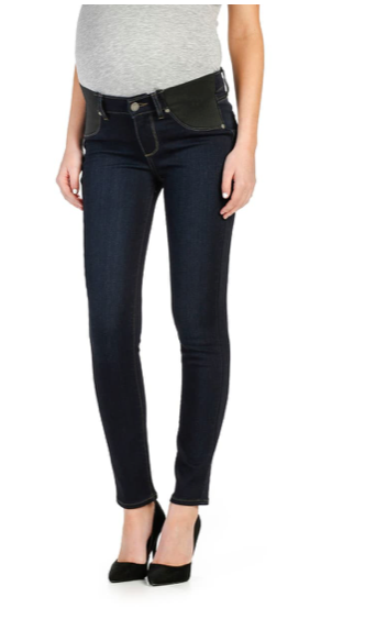 S Paige Verdugo Ankle Maternity Skinny Jeans