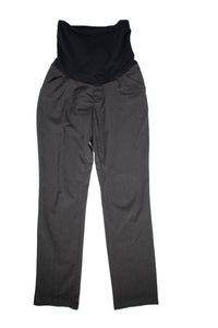 XS A Pea In The Pod Maternity Dress Pants in Grey