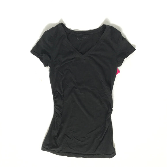 Gap Maternity Black Basic V-Neck