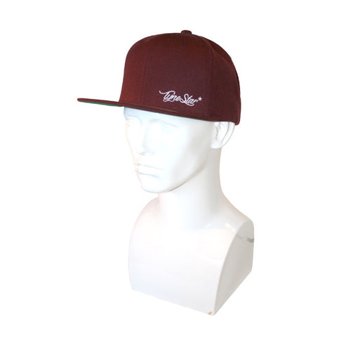 Tynestar Signature Baseball Cap Snap Back Burgundy