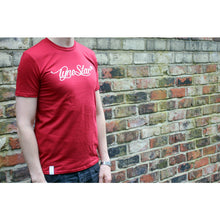 Tynestar Signature Tee Shirt Red Front Model
