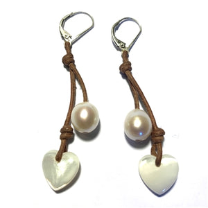 Amour Heart Cherries Earrings