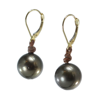 BTE Drop Earrings 11-12mm