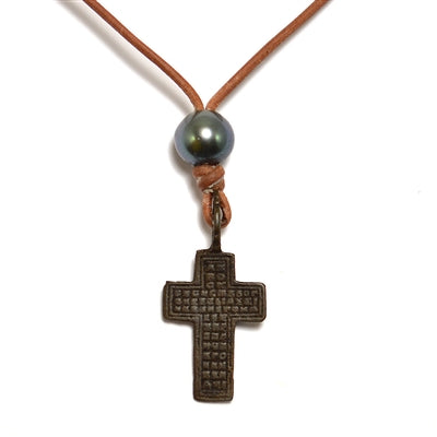 BTN Russian Cross Saba Necklace