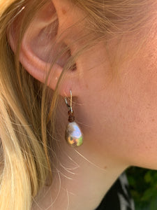 FWE Aurora Borealis Small Drop Earring