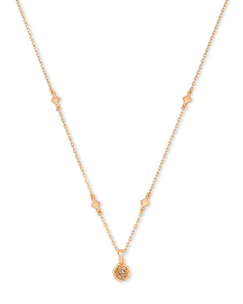 Nola Short Pendant Drusy Necklace