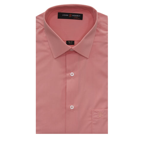 Slim Dress Shirt Peach