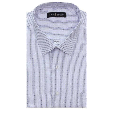 Comfort Dress Shirt Detailed Lines
