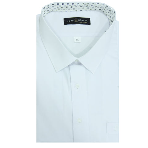 Comfort Dress Shirt Total White / Collar Design