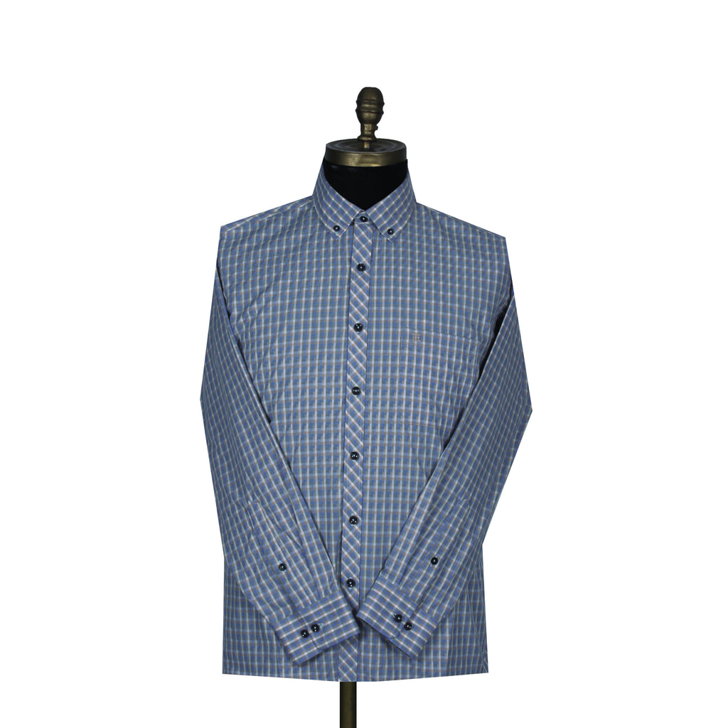 Sport Shirt Fusion Blue Button-Down