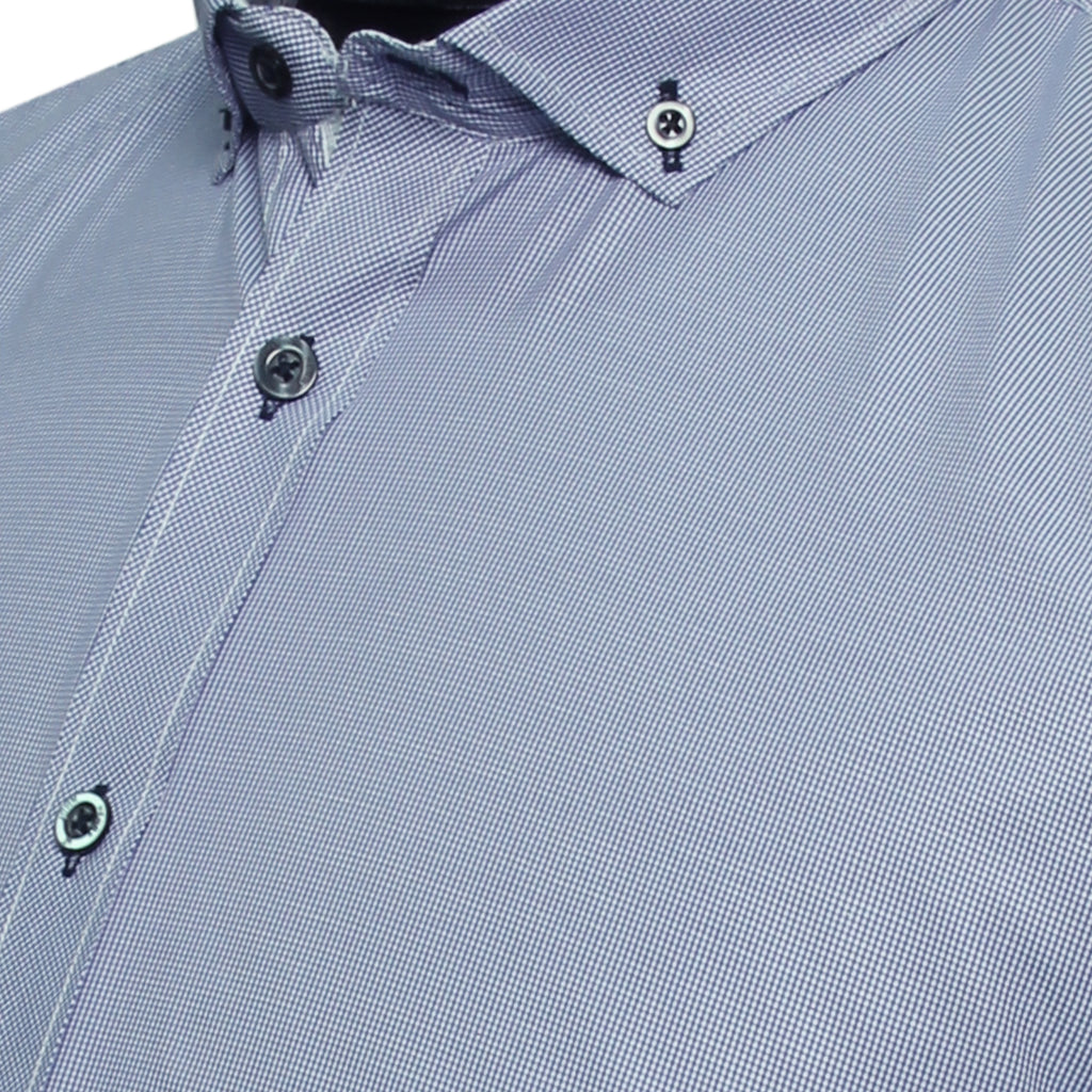 Sport Shirt Minimal Blue Button-Down