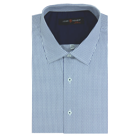 Slim Dress Shirt Nautical Blue