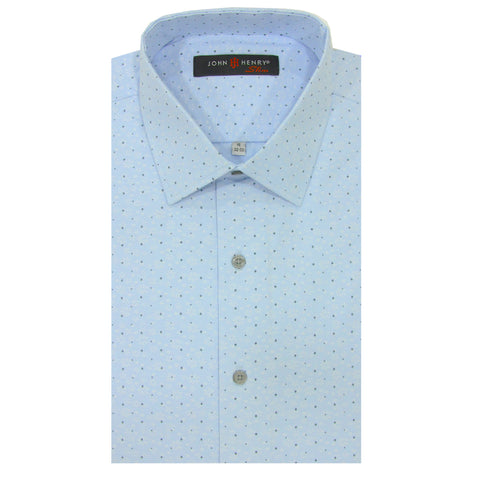 Slim Dress Shirt Summer's Blue