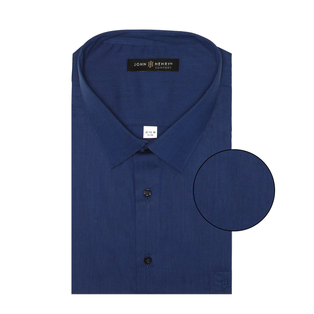 Comfort Dress Shirt Navy Blue