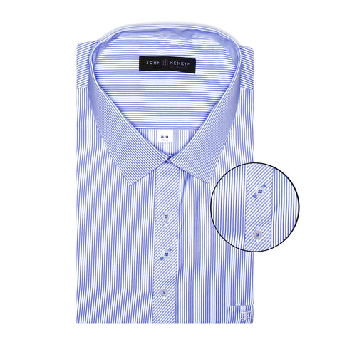 Comfort Dress Shirt Luxury Sky