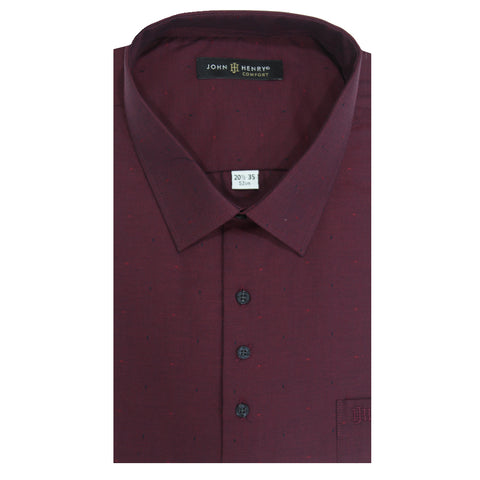 Comfort Dress Shirt Design in Mauve
