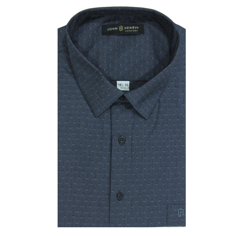 Comfort Dress Shirt Textured Diamond