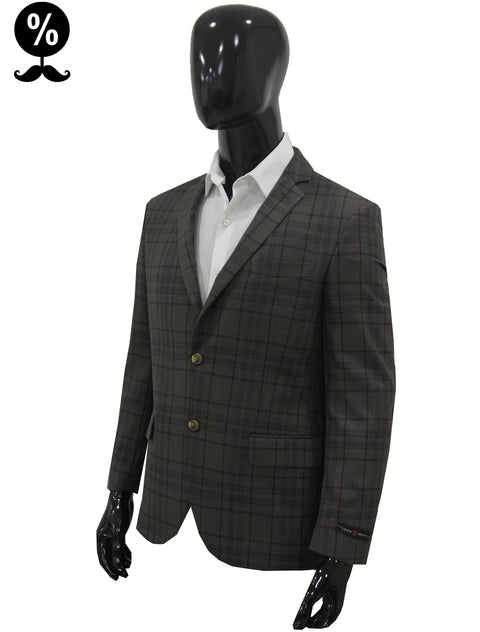 Suit Jacket Square Coffee
