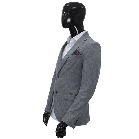 Studio Suit Jacket Total Gray Cotton