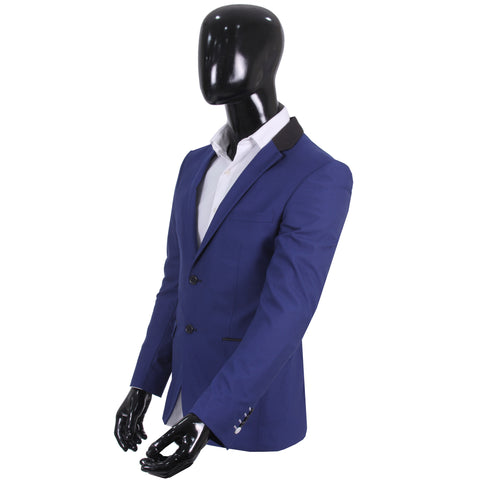 Studio Suit Jacket Duplex Blue