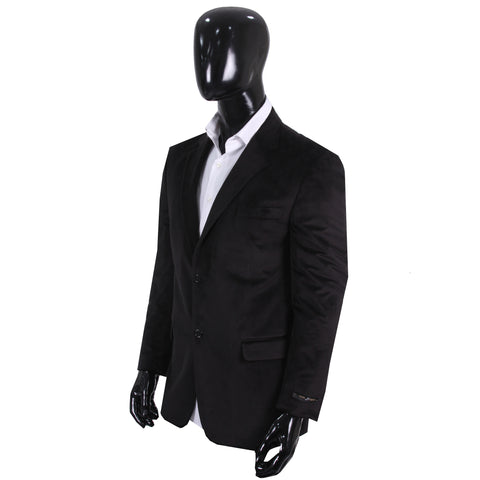 Studio Suit Jacket Black Velvet