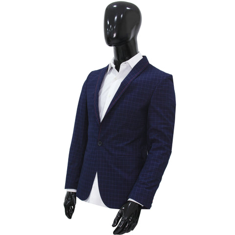 Studio Suit Jacket Luxury Blue