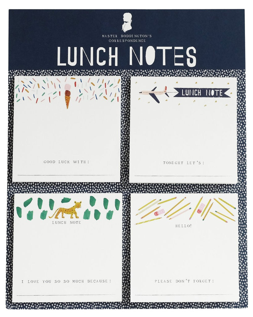 LUNCH NOTES SET