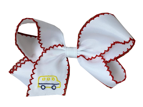 School Days Hair Bow