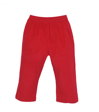 William Pant- Red Cord (4t)