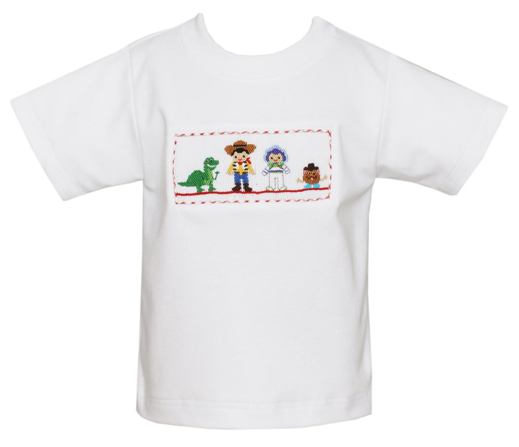 TOY FRIENDS - BOY'S WHITE SHIRT