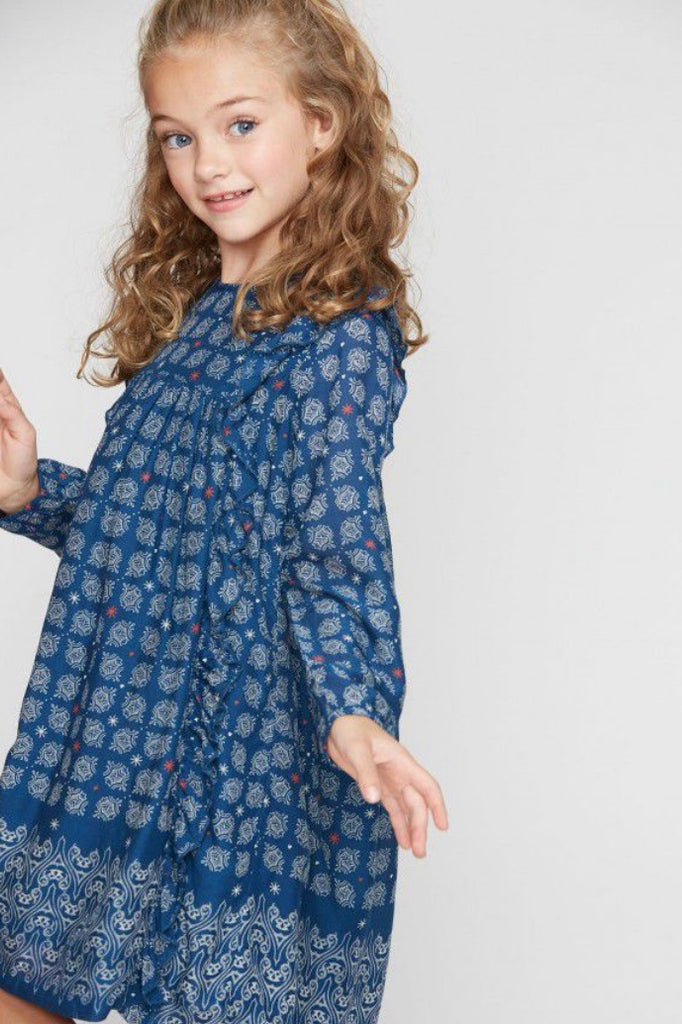 Starry Border Lola Dress