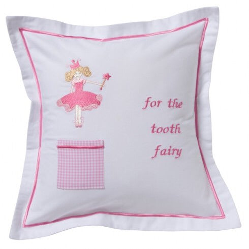 Tooth Fairy Pillow Cover