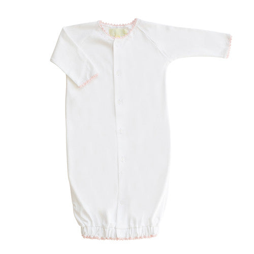 Pink Jersey Converter Gown (6-9m)