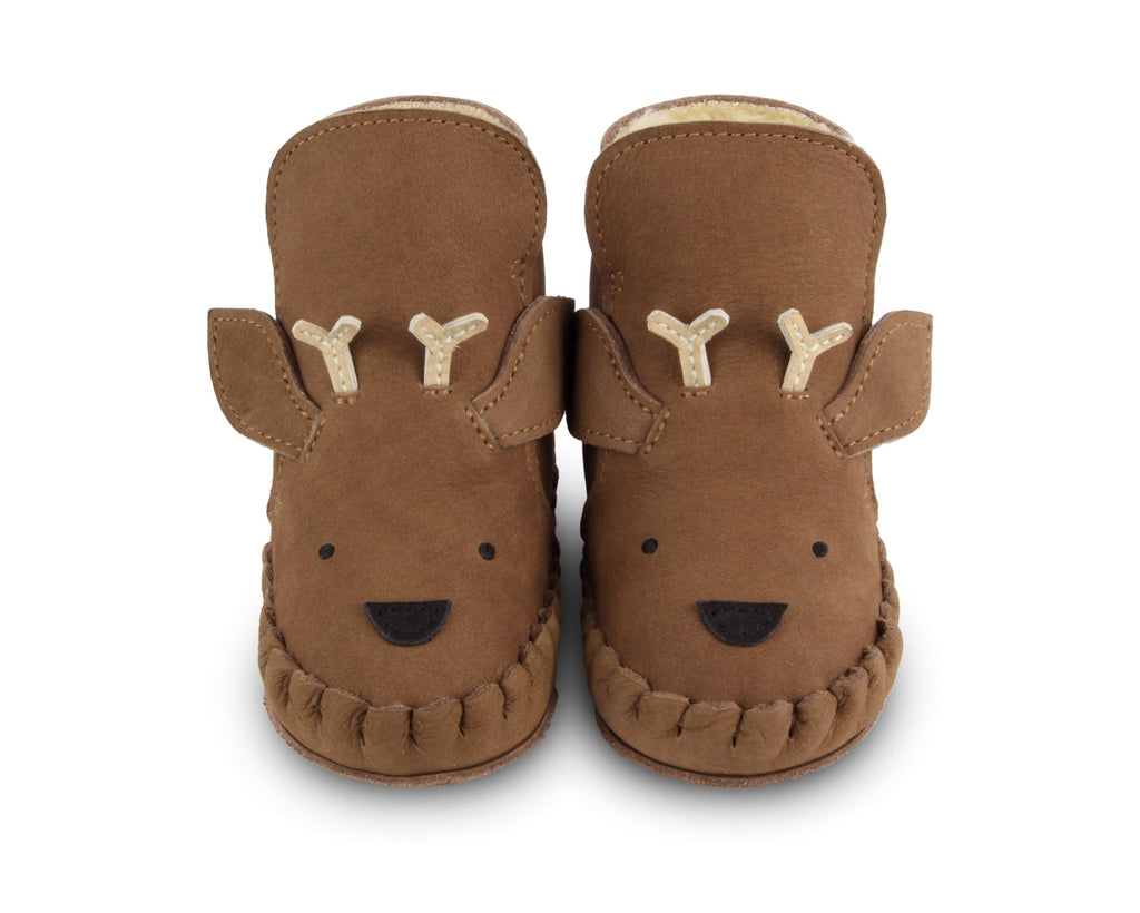 Stag- Kapi Special Lining Bootees (0-6m,12-18m,24-30m)