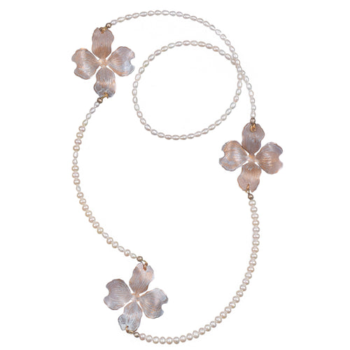 Dogwood Pearl Necklace