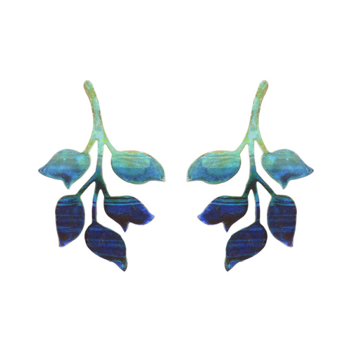 Single Ombre Ophelia Earrings