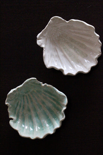 Large Clay Shell Dishes
