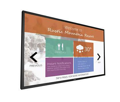 "43"" Multi-Touch Display"