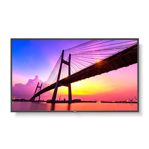 "50"" Ultra High Definition Commercial Display with Integrated ATSC/NTSC Tuner"