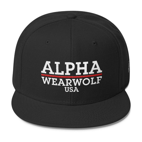 WEARWOLF USA ALPHA SNAPBACK