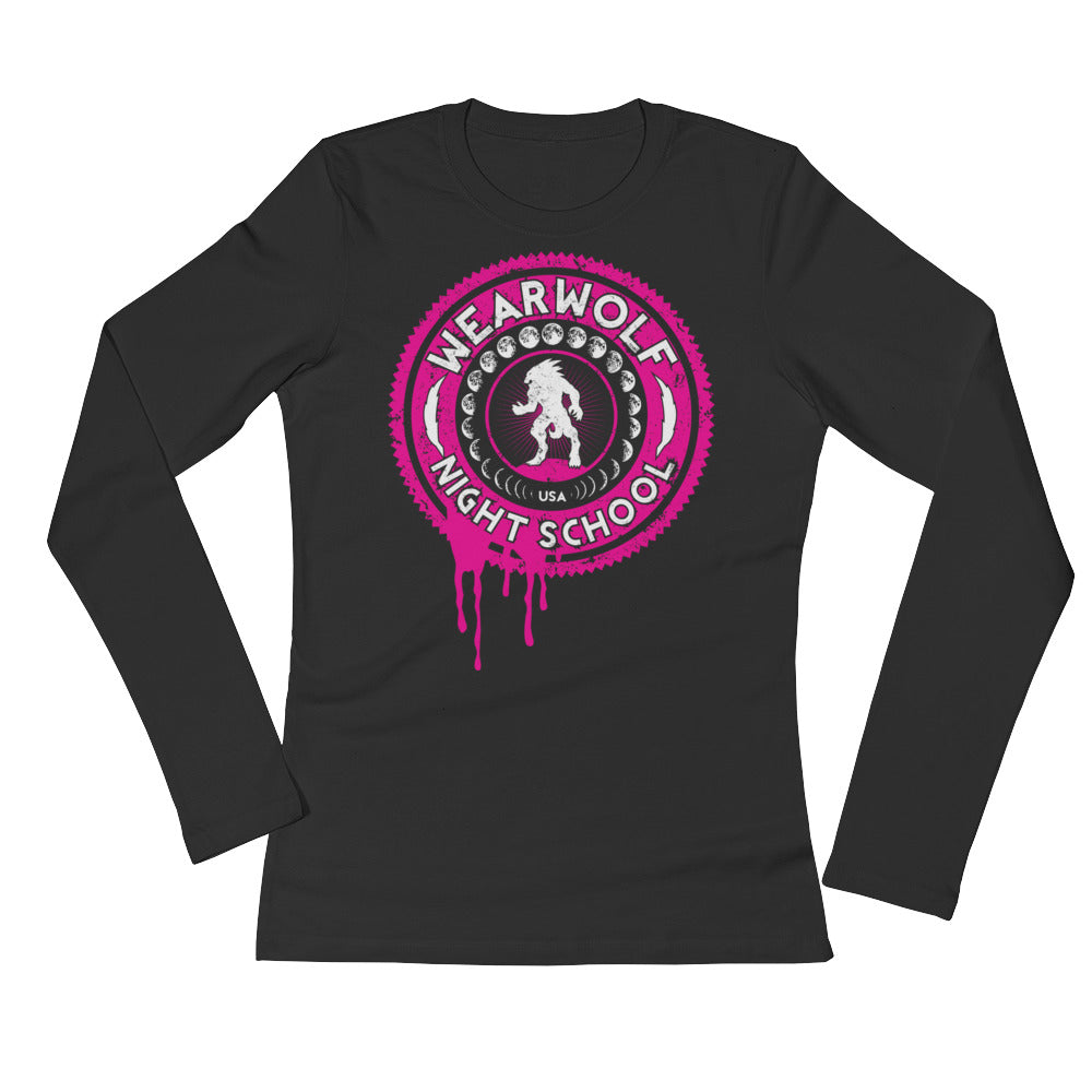 WOMEN'S WEARWOLF NIGHT SCHOOL [PINK LS]