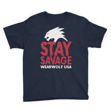 STAY SAVAGE UNISEX YOUTH TEE